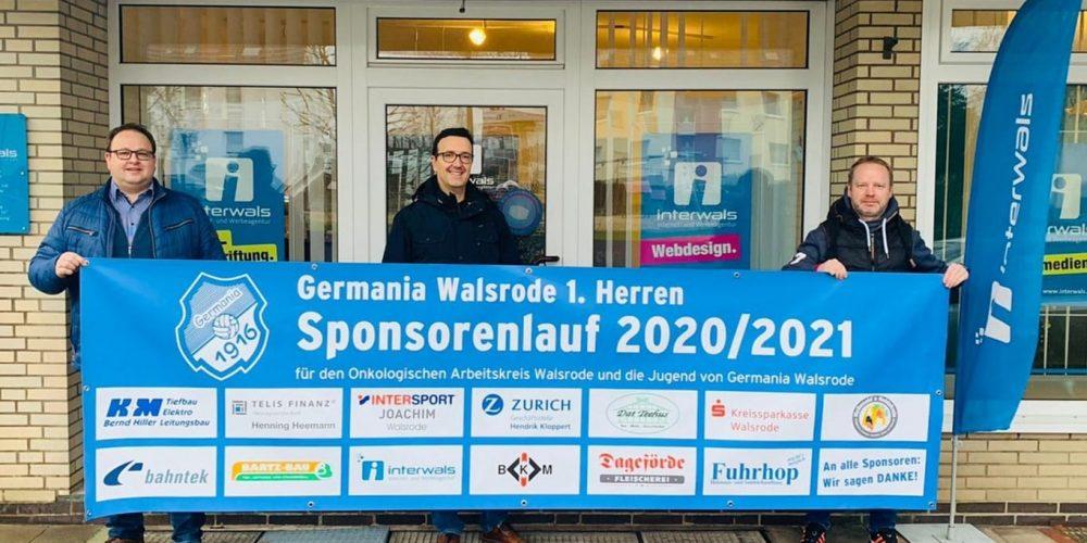 Sponsor für den Germania Sponsorenlauf 2020/2021