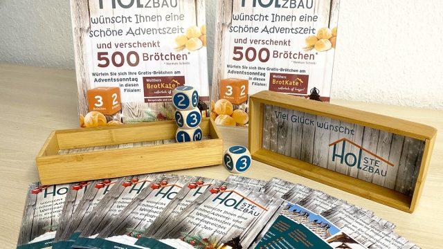 ℹ️nterwals-Werbeaktion für Holste Holzbau