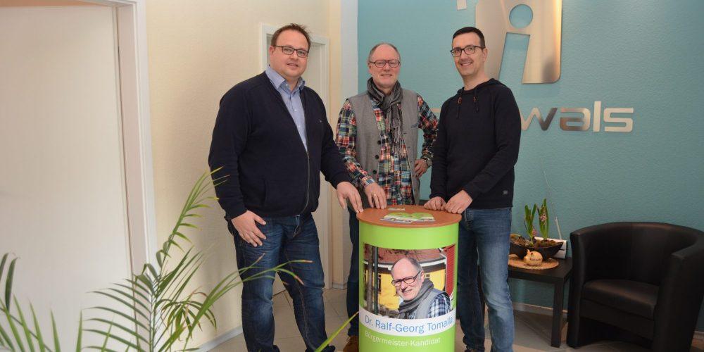 ℹ️nterwals und der Bürgermeisterkandidat 2019 für Wietzendorf
