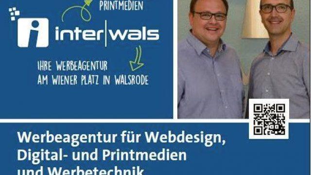 📰 Zeitungsbericht über ℹ️nterwals im Walsroder Markt, vom 29.05.2019